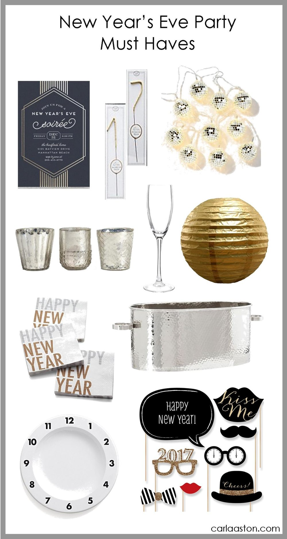 New Year's Eve Party Must Haves