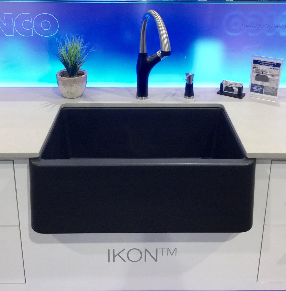 Blanco Ikon Sink and Faucet