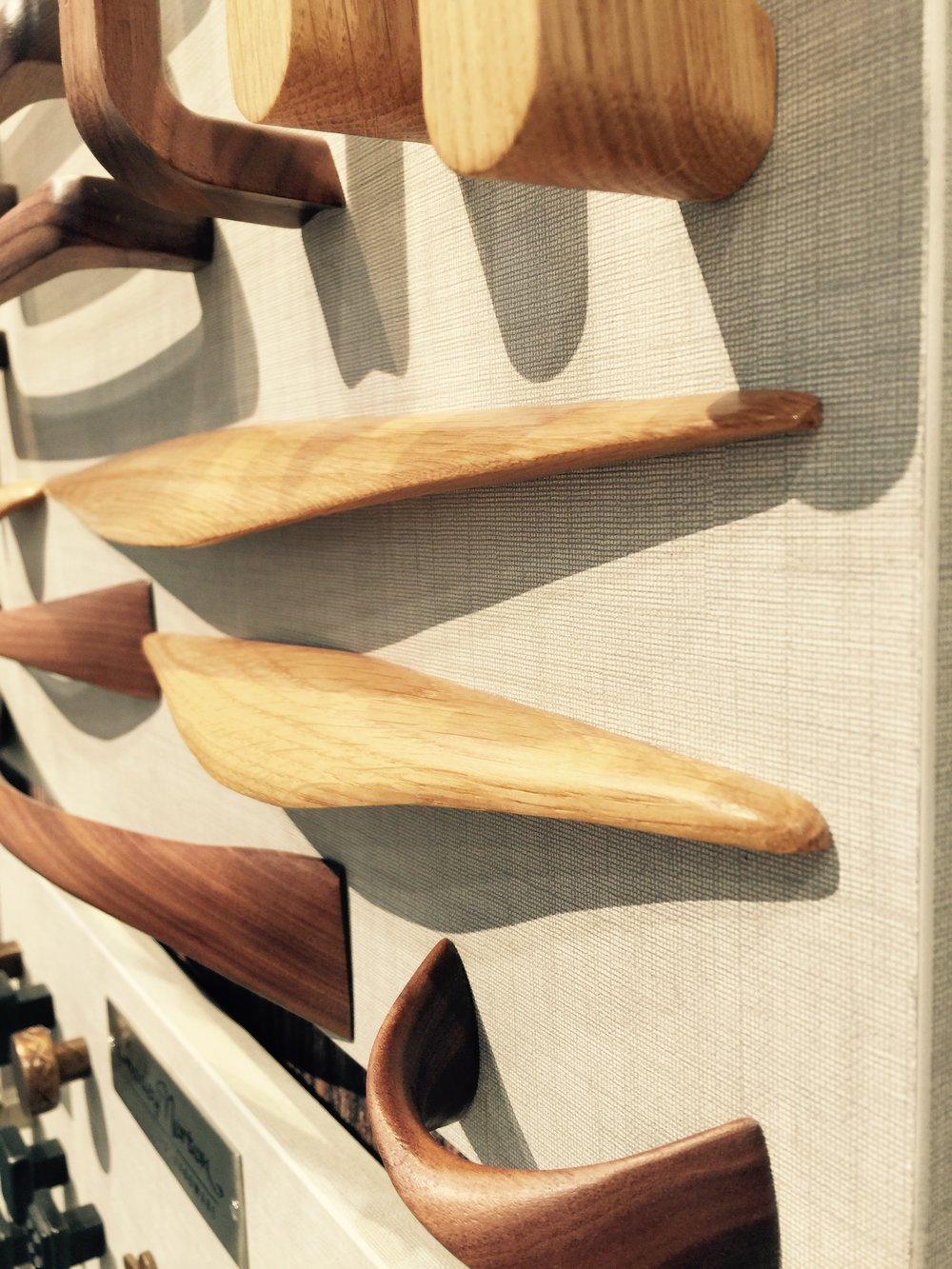 Manzoni wood cabinet pulls - KBIS 2016