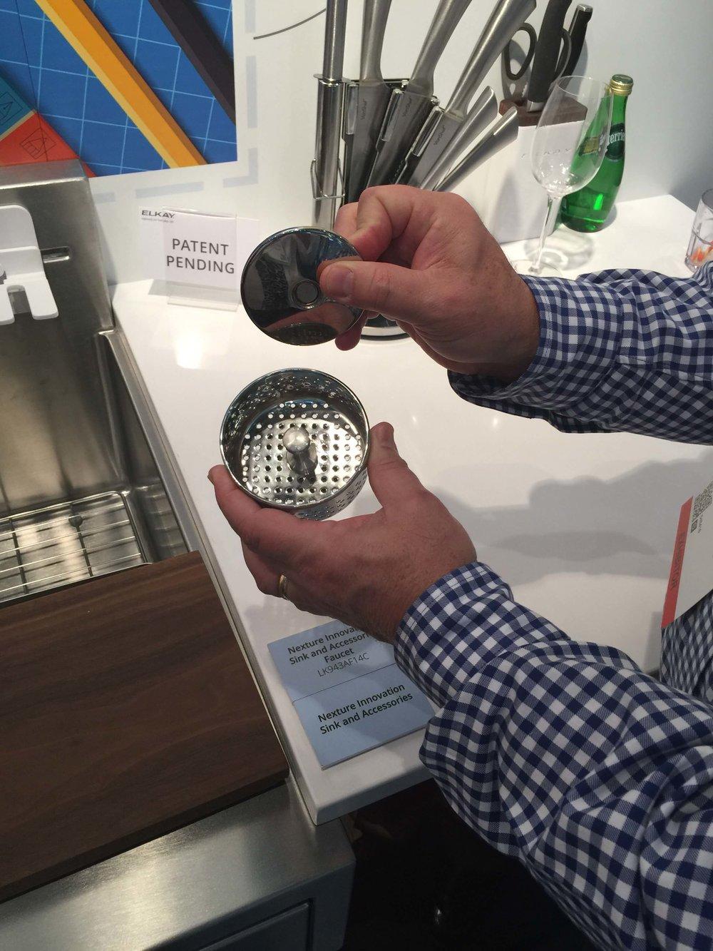 Elkay prototype stainless sink