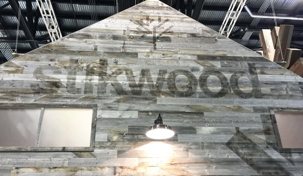 Stikwood exhibit at KBIS 2017