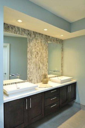 Backsplash Advice For Your Bathroom - Would you tile the side walls ...