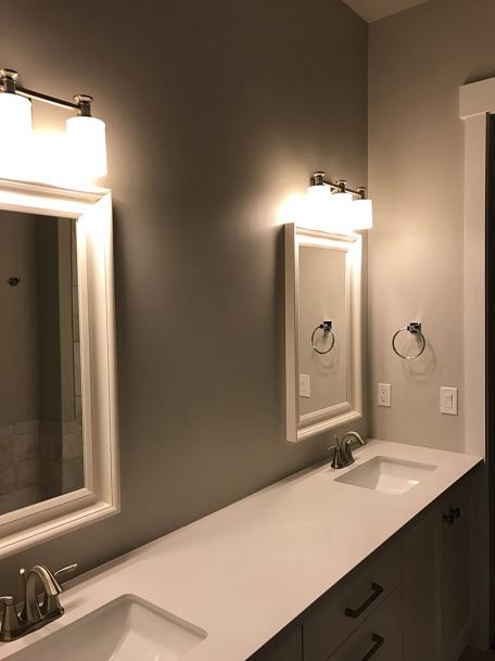 Backsplash Advice For Your Bathroom Would you tile the side