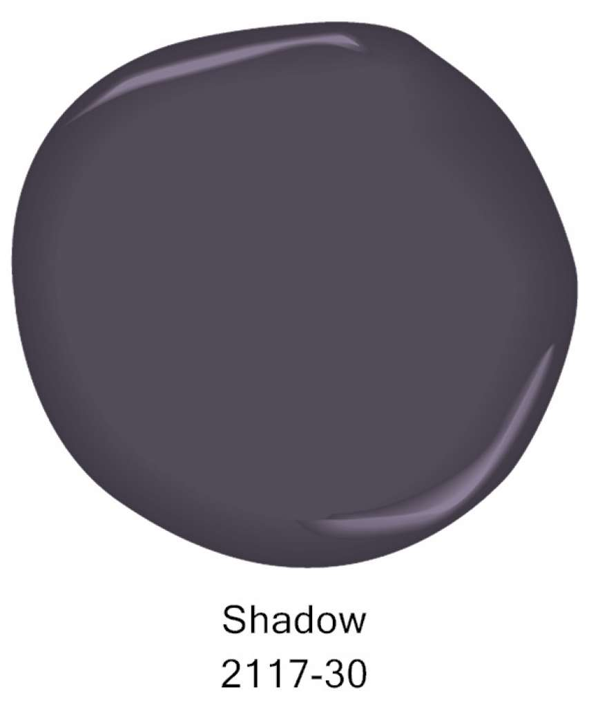 Benjamin Moore's Color of  the Year - Shadow