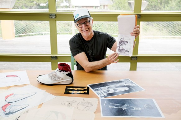Tinker Hatfield - Image via:  Wired