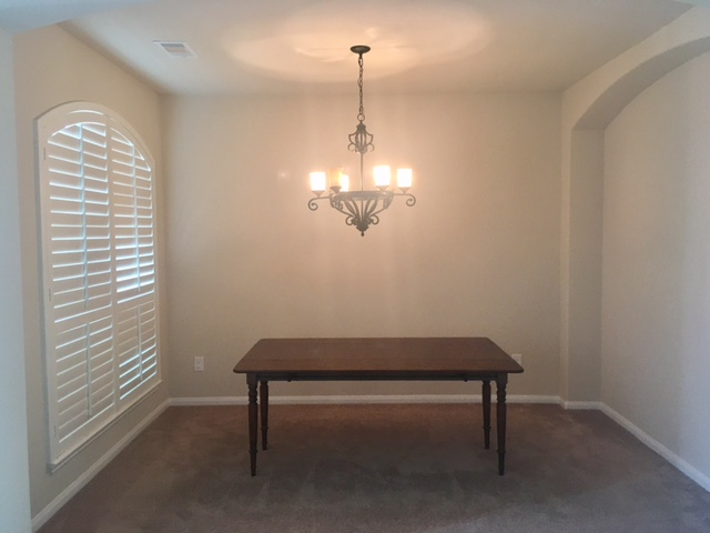 Dining Room Redo Before Pic