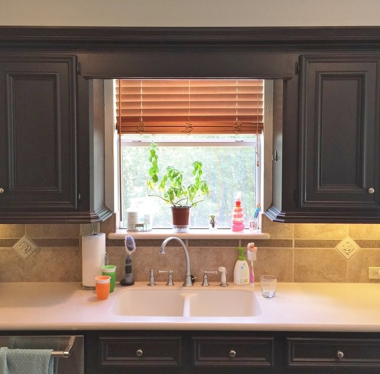Make A Small Kitchen Look Bigger: Those Pesky Little Kitchen Windows And How To Make Them