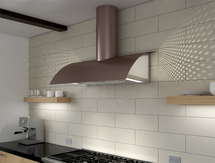 Zephyr vent hood designed by Fu-Tung Cheng