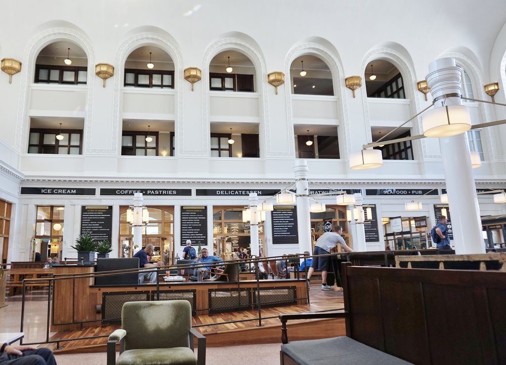 The Crawford Hotel at Union Station lobby | Denver