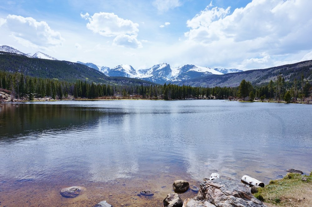 Mountain view | Colorado Rockies, Estes Park