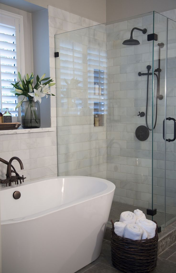 5 Phenomenal Bathroom Tile Combinations: Is Subway Tile Still In Style?