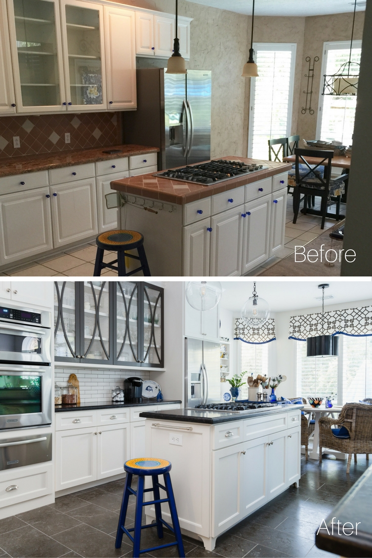 Before and After Kitchen Remodel | Carla Aston Designer | Tori Aston Photographer