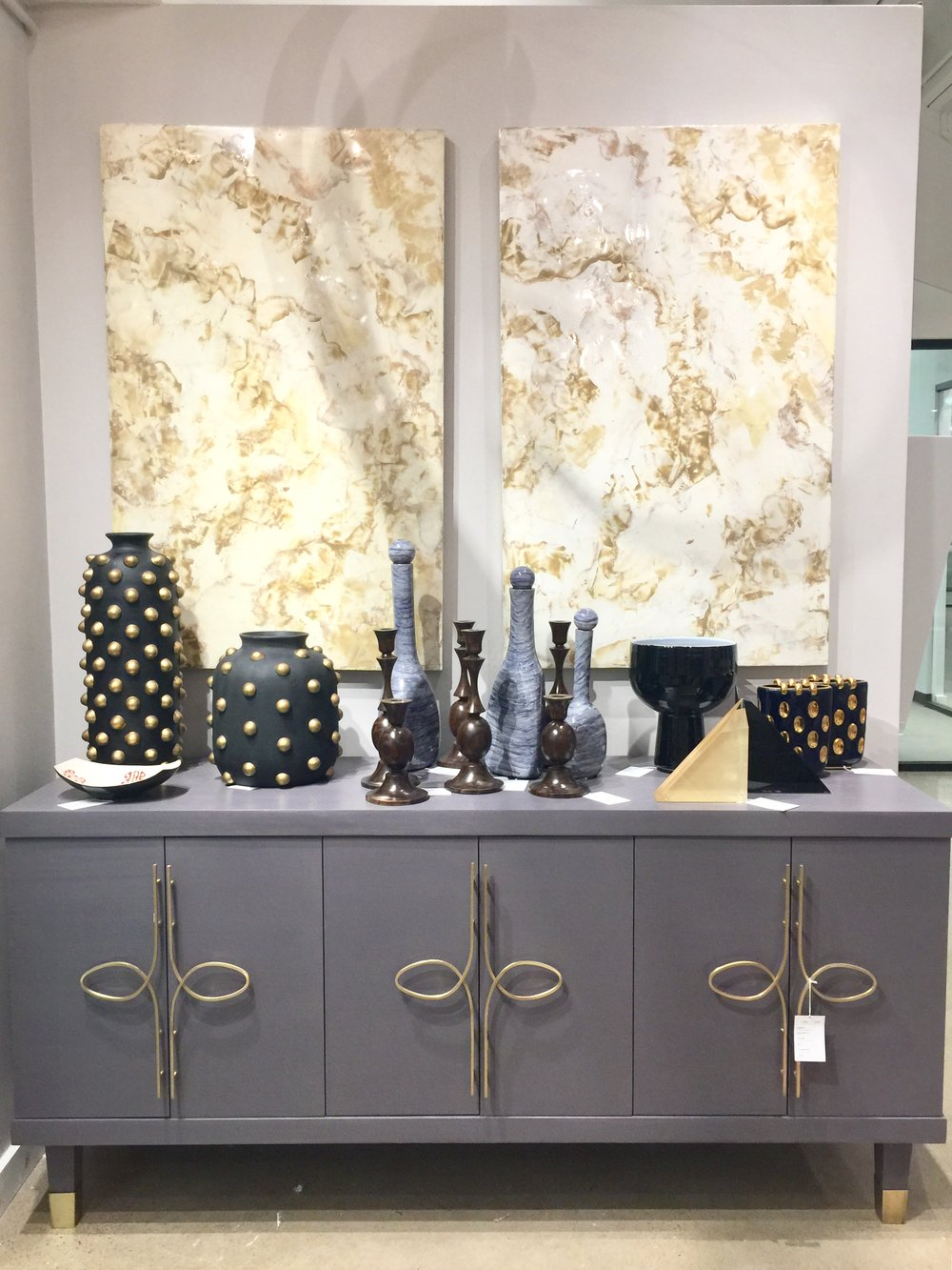 Dallas Market Robin Baron showroom