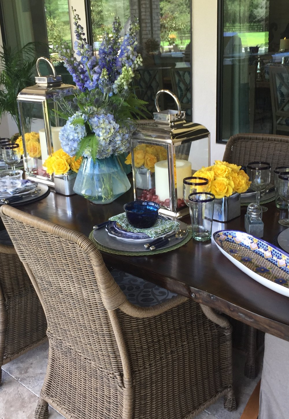 Outdoor dining by Paul Kevin Dix, Designer