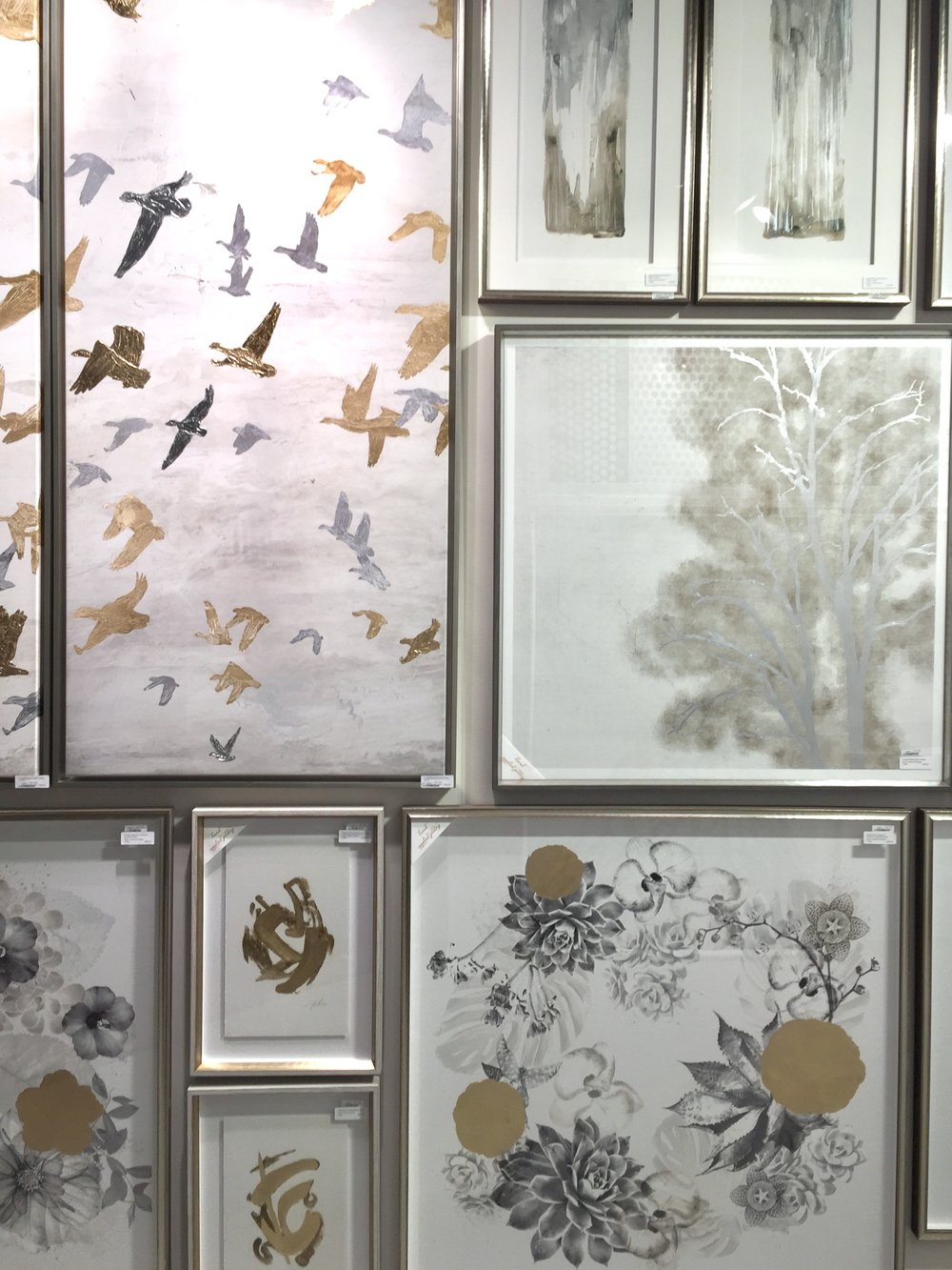 Elegant A little silver and gold from Celadon Art helps to bine warm and cool tones in a room This marriage of metallic colors gives a room depth and variety