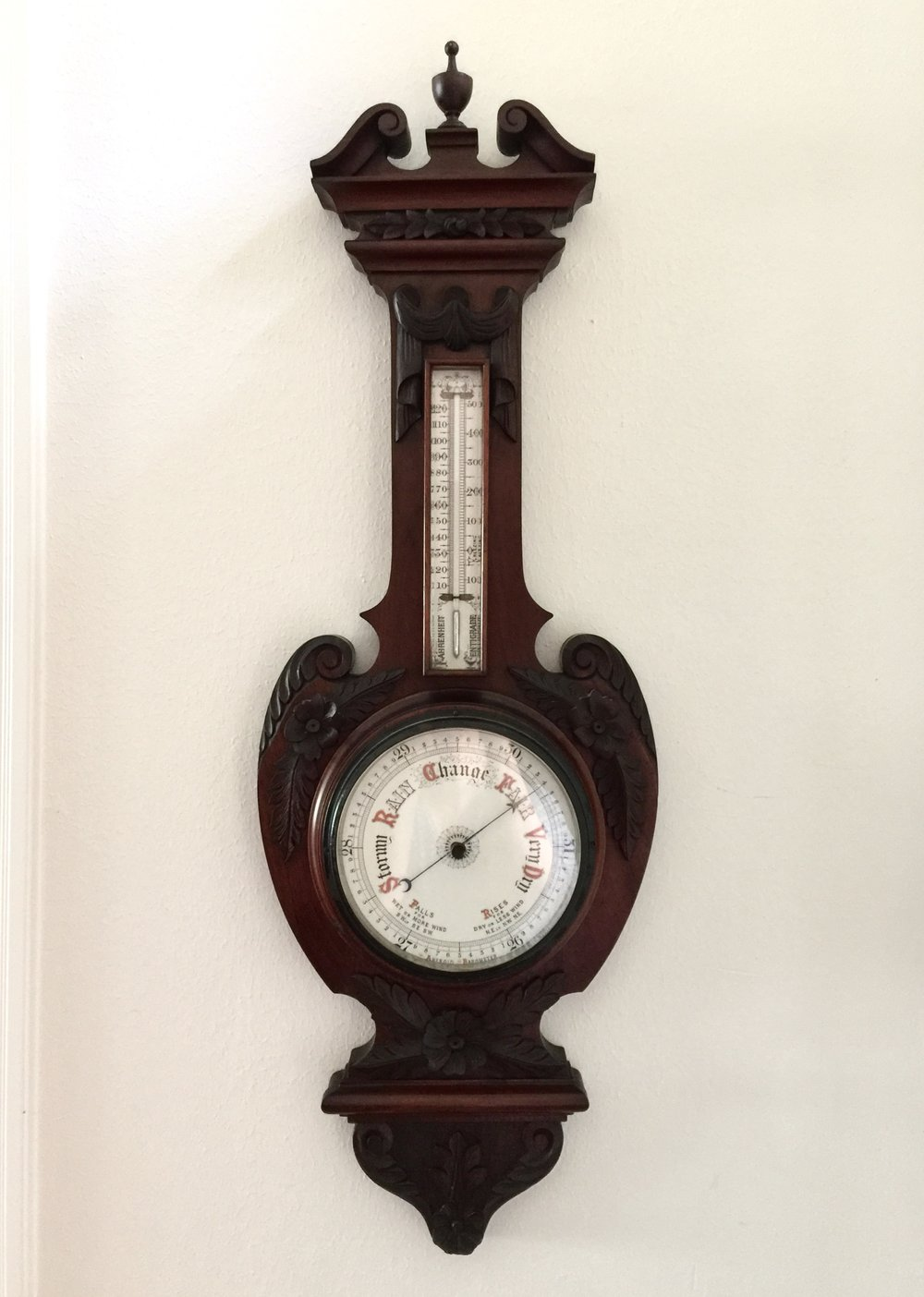 Antique barometer inherited from my husband's father