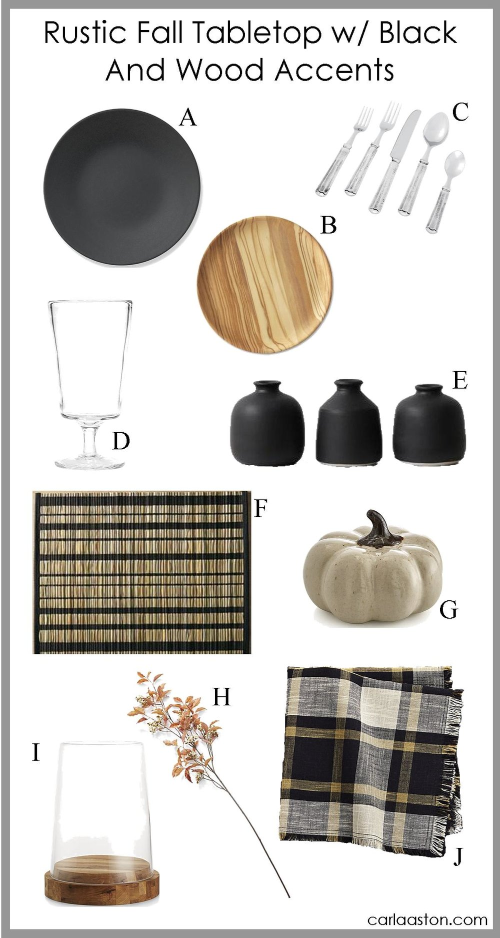 click thru to get links for fall decor shopping!