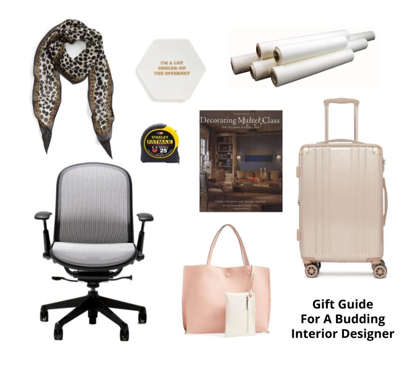 Gift Guide For The Budding Interior Designer