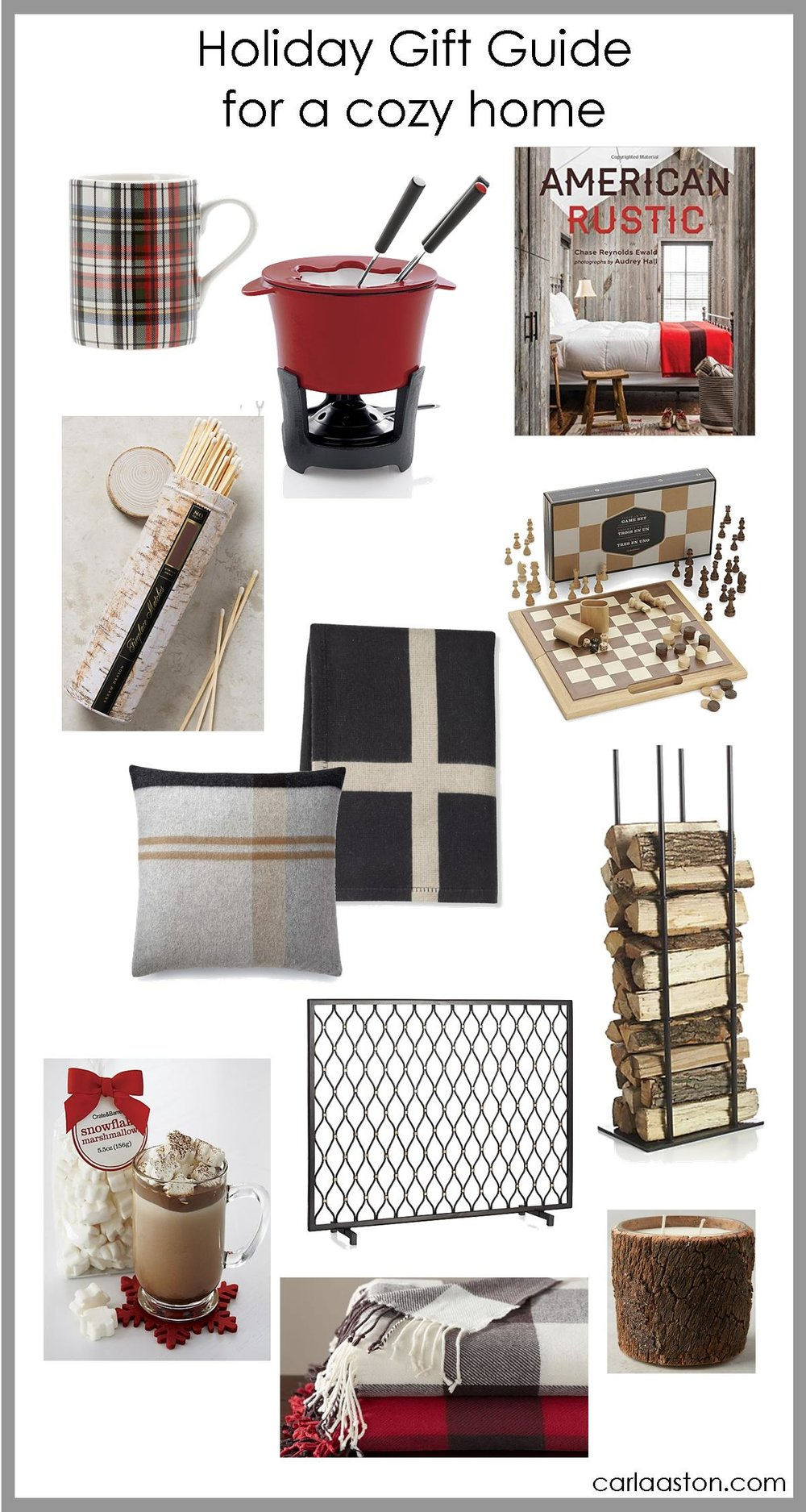 Click through for this gift guide for a cozy home!