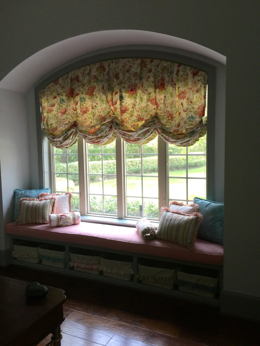 BEFORE - Showhouse room window