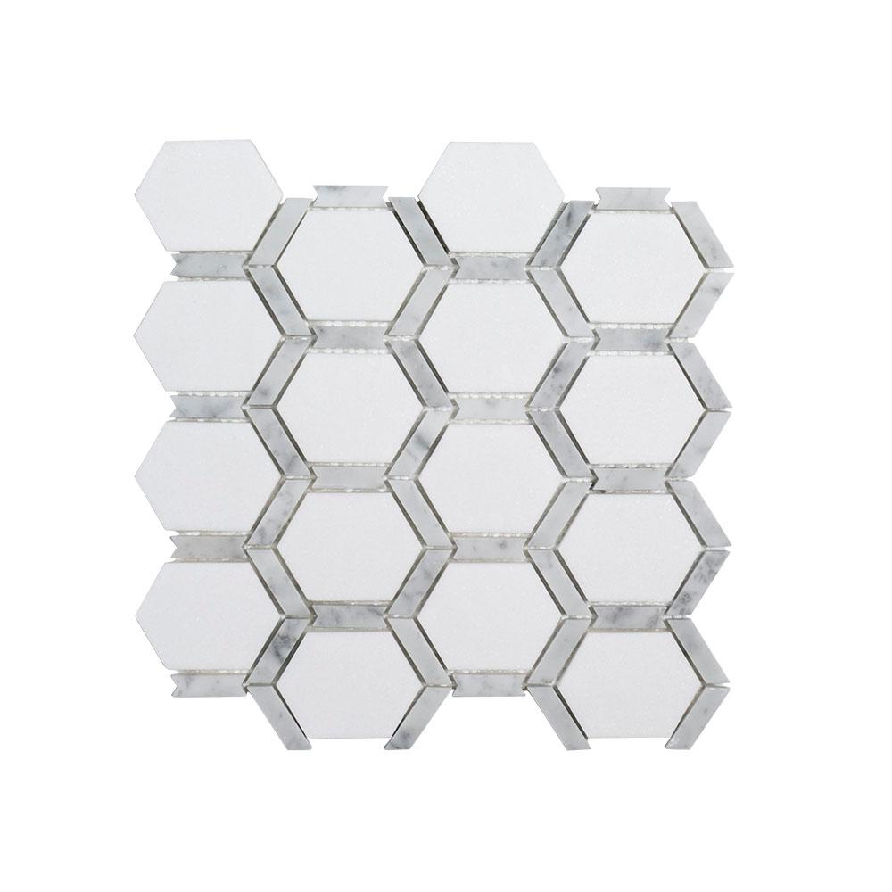 Hex Marble Mosaic