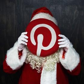 Santa on Pinterest!