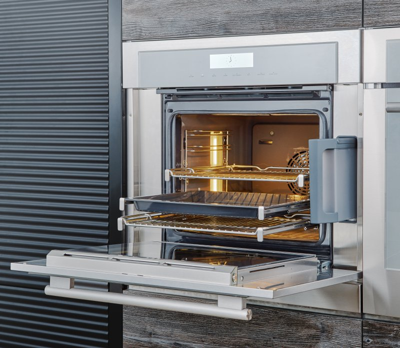 Steam oven with flush installation from Thermador #thermador #steamoven