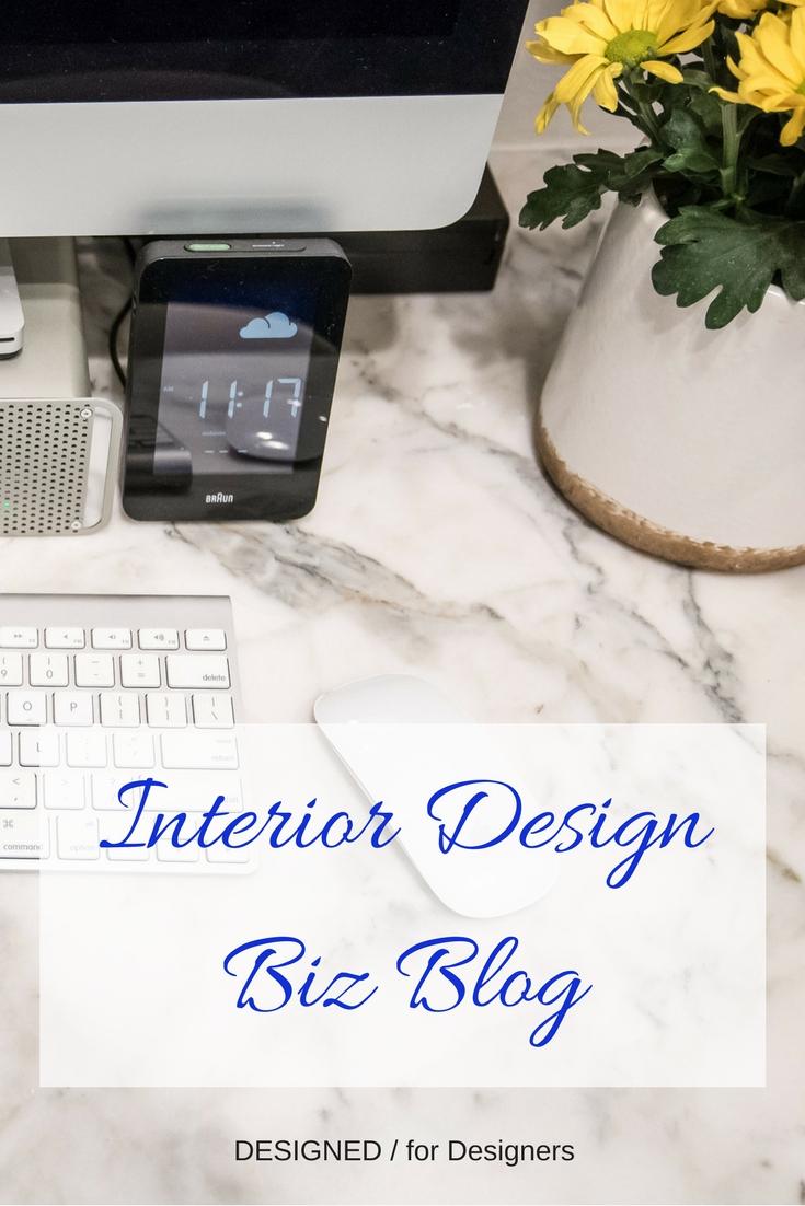 Interior Design Biz Blog - Designed for Designers