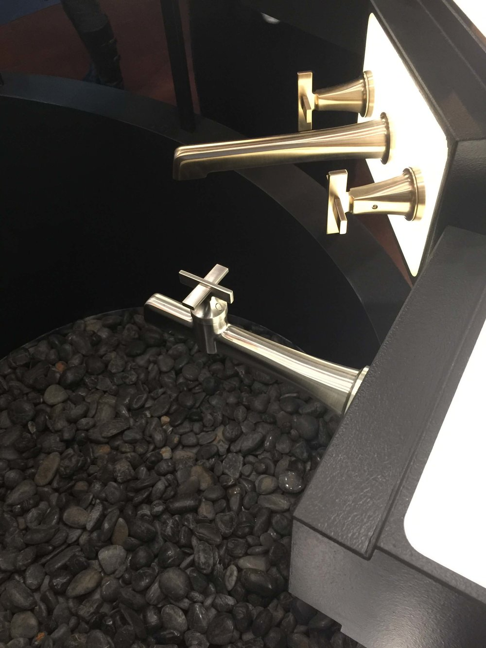 Brizo tub filler #wallmountfaucet