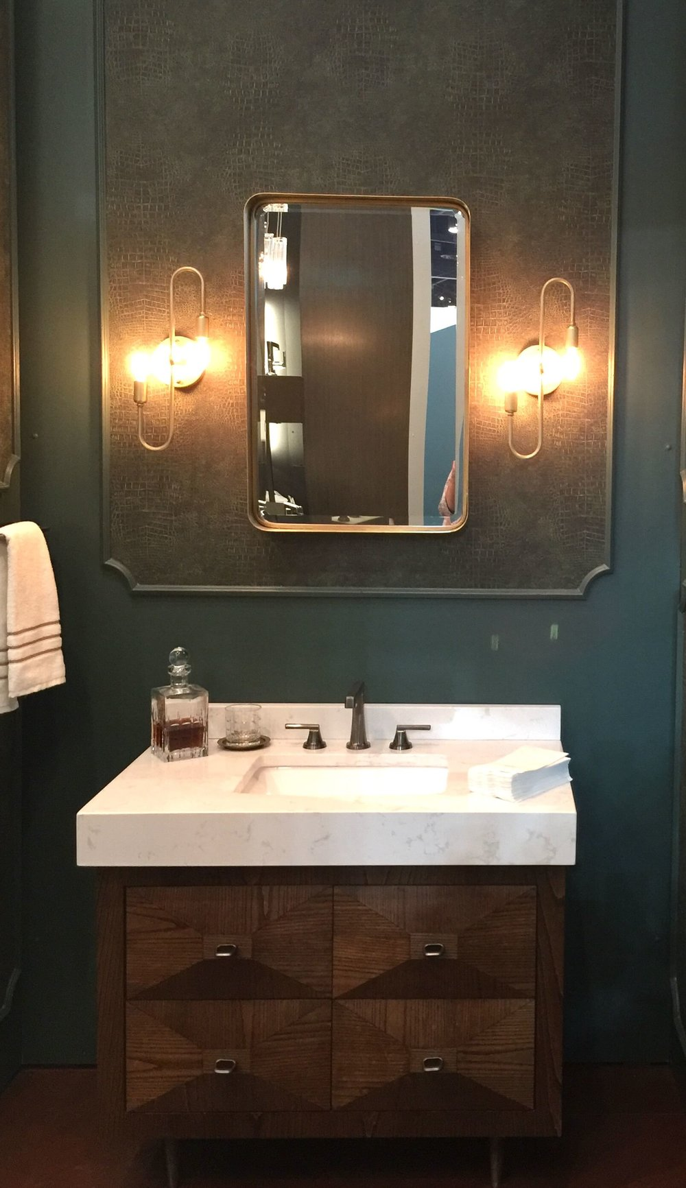 Brizo bathroom vignette KBIS2018 #brizo #bathroom