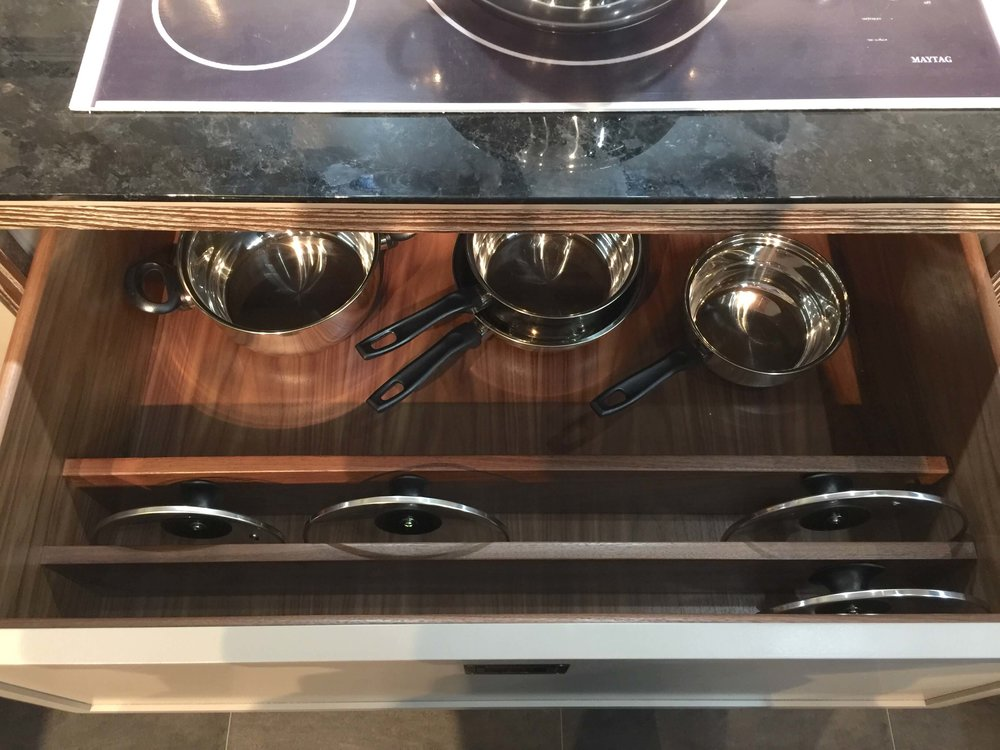 kitchen cabinet drawer organization KBIS2018