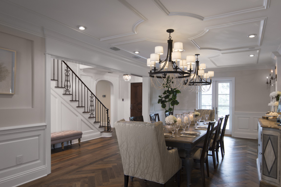 Dining Room of The New American Remodel - Orlando KBIS2018 #diningroom #formaldining