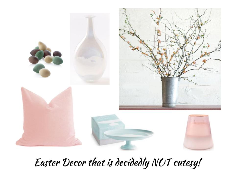 The board I did for the header of my Easter Decor post with affiliate links - Click through to check it out