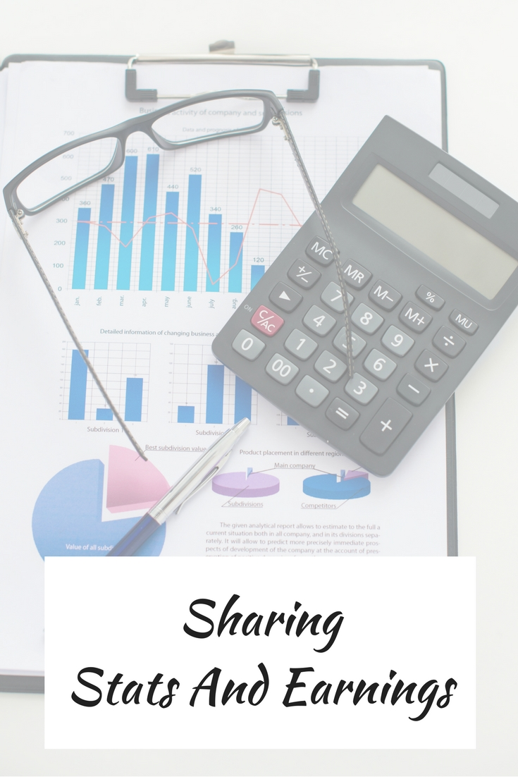 Sharing Stats And Earnings