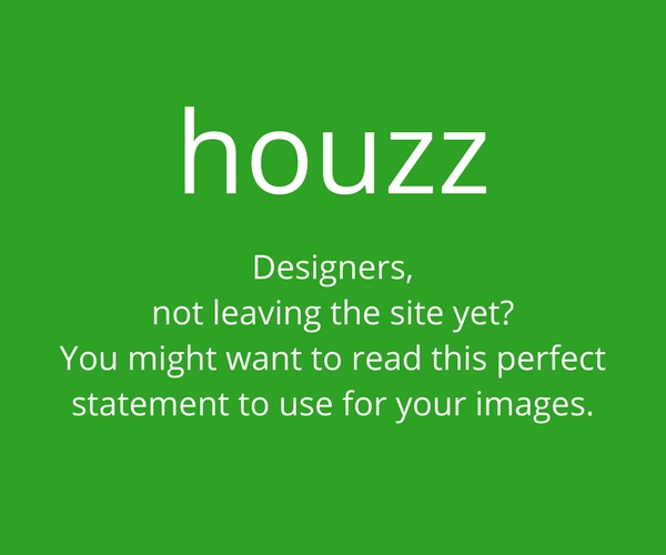 Houzz strategy for interior designers