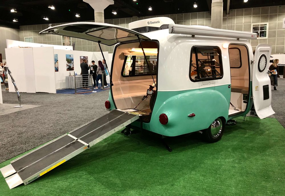 Happy Camper RV seen at Dwell on Design #glamping #camping #rv #dwellondesign