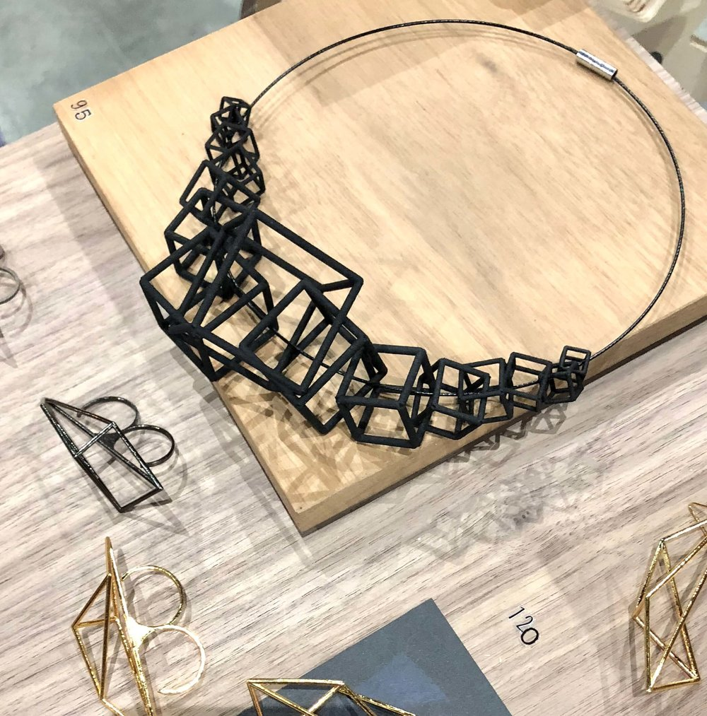 Zimarty jewelry design at Dwell on Design #3dprinting #jewelrydesign