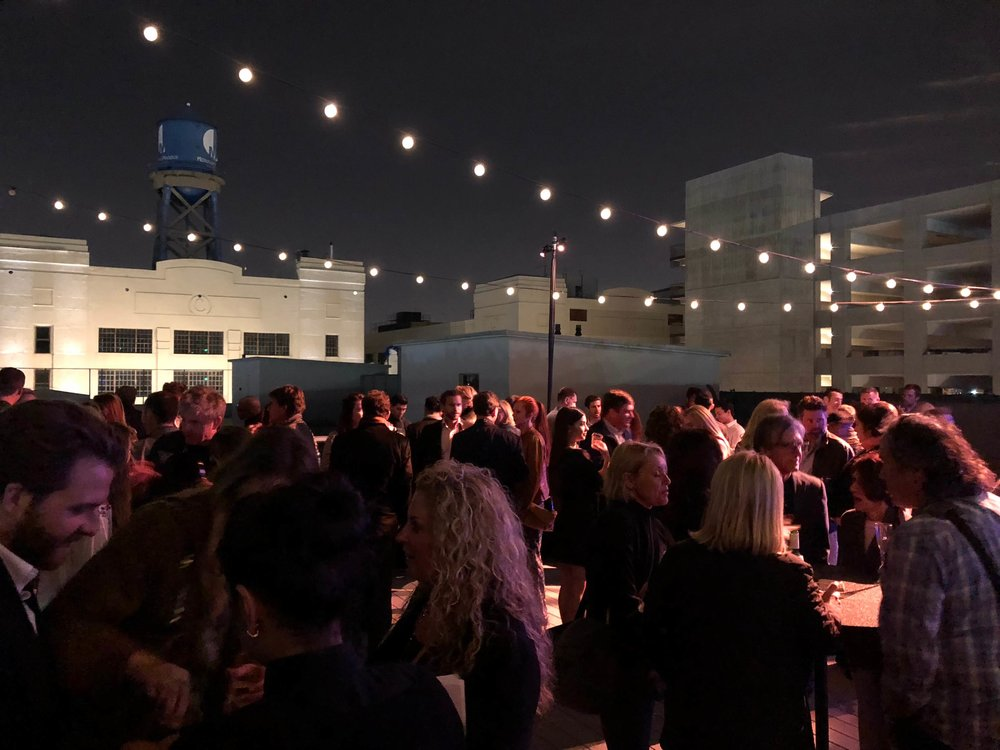 Dwell on Design rooftop party