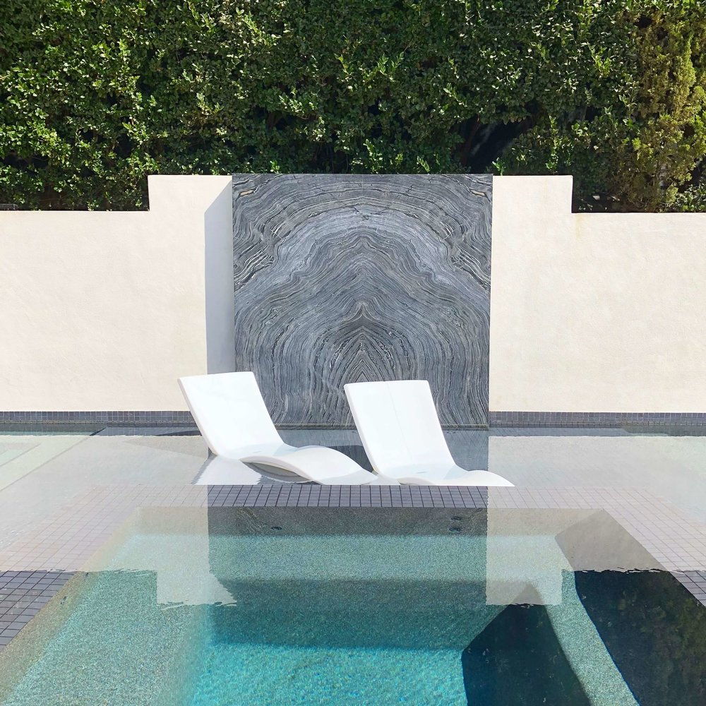 Contemporary swimming pool at the Pasadena Showcase House of Design 2018, Huntington Pools