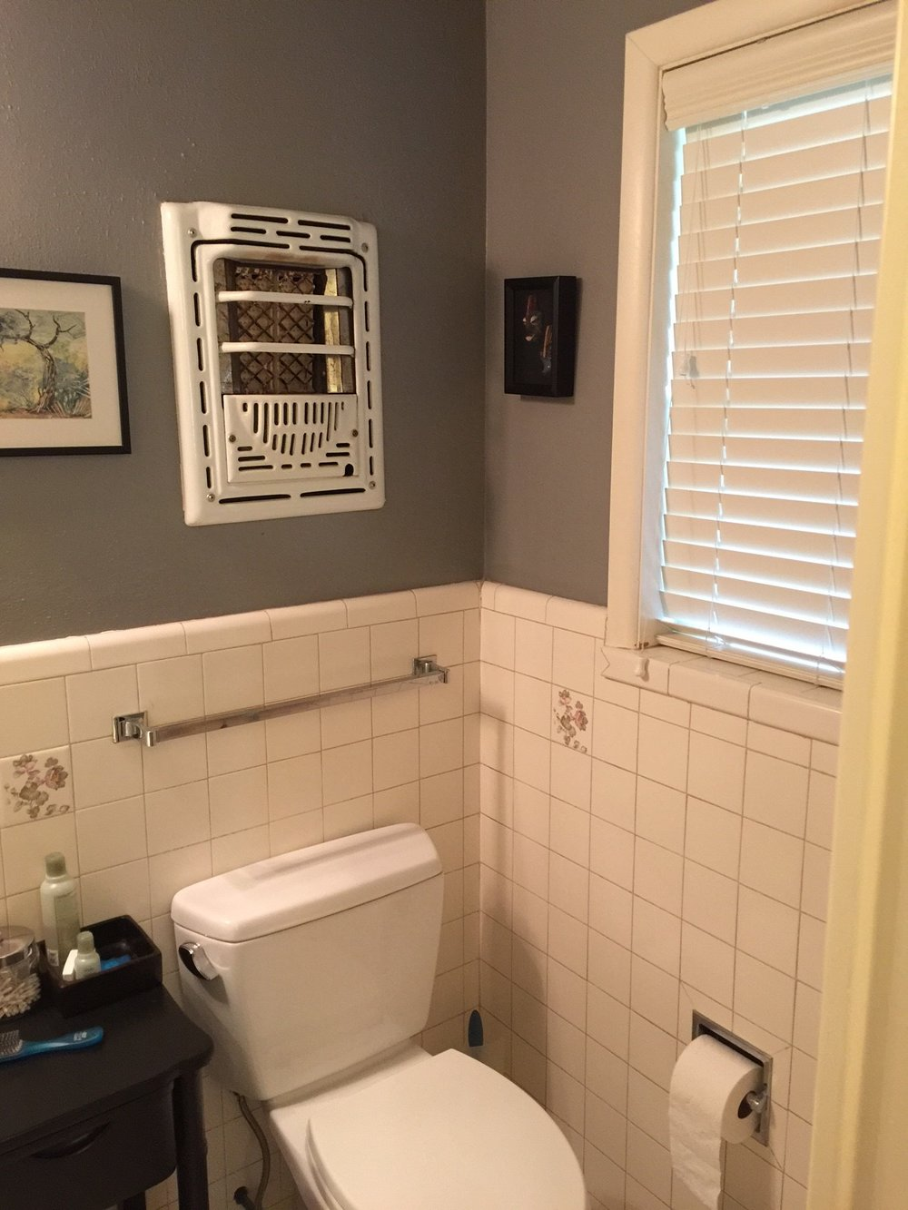 BEFORE Bathroom remodel