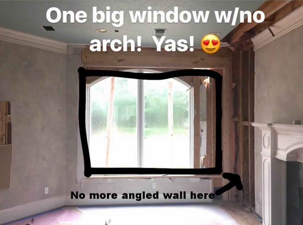 Sneak peek remodel new window