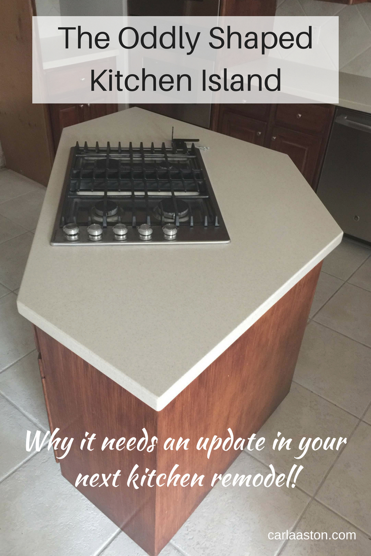 The Oddly Shaped Kitchen Island