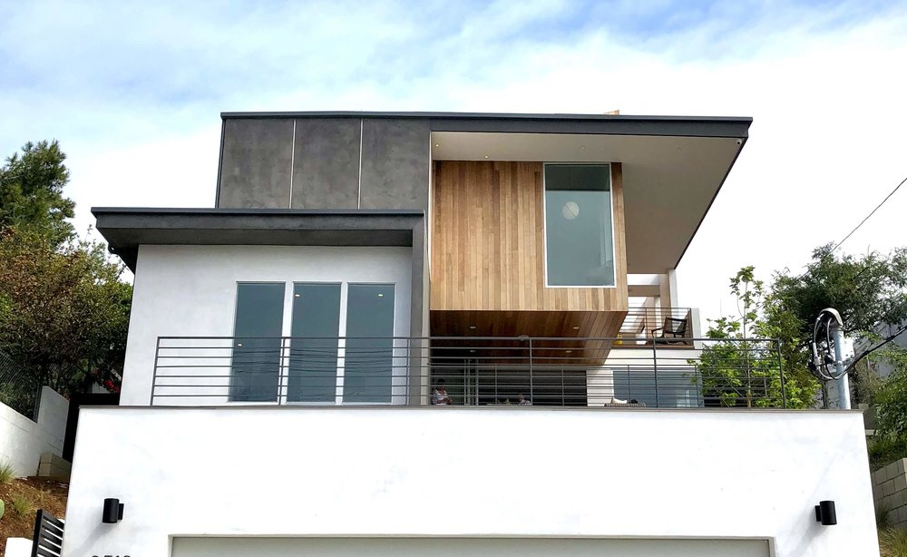 Street view, balconies | California home tour, Architects: CHA:COL, Inc.