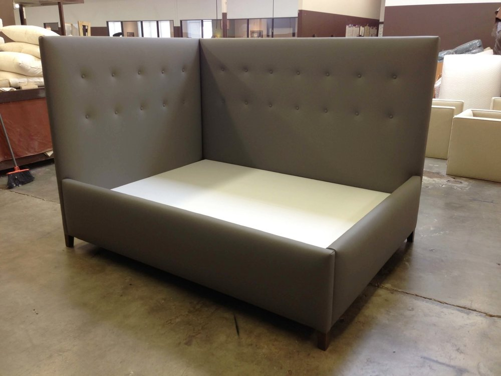 Custom upholstered daybed #daybed