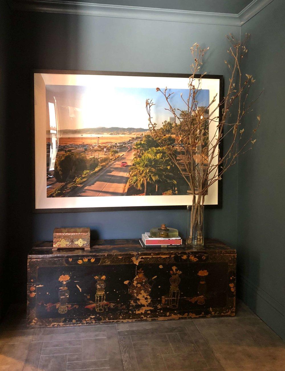 Photograph / photography / photo as art in interior design | Xander Noori, Designer, Pasadena Showcase House of Design