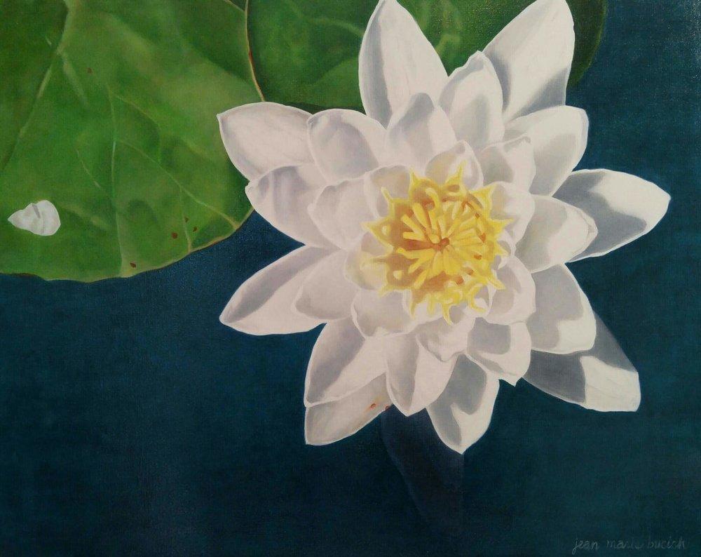 Daybreak oil painting, Artist - Jean Marie Bucich, 30 x 24