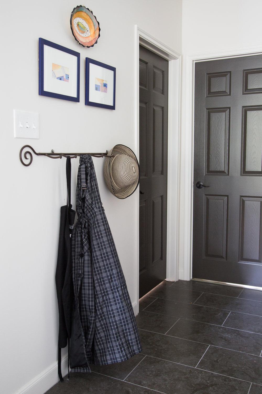 Which direction to run the tile flooring,  Kitchen Remodel  | Interior Designer: Carla Aston, Photographer: Tori Aston