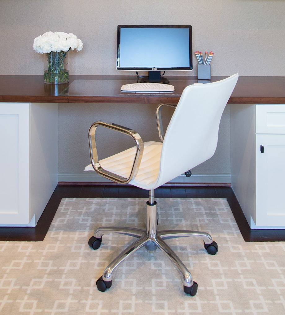 Interior Design Blog Title Generation Tips | Home office designed by Carla Aston, Photographer: Tori Aston