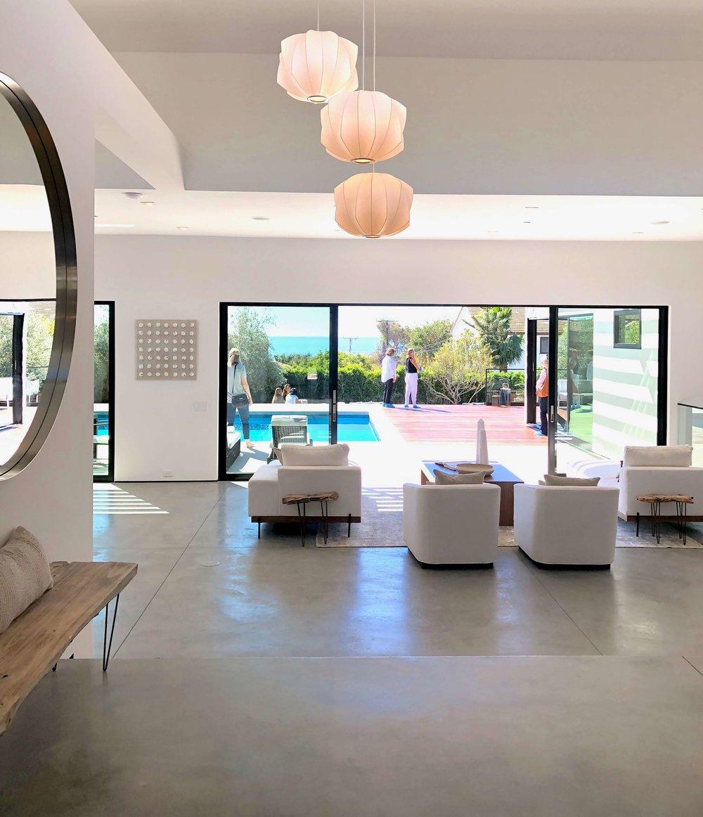 California contemporary design - Dwell on Design's Fall Home Tour, Designer: Vitus Matare #concretefloors #slidingdoors #contemporarystyle
