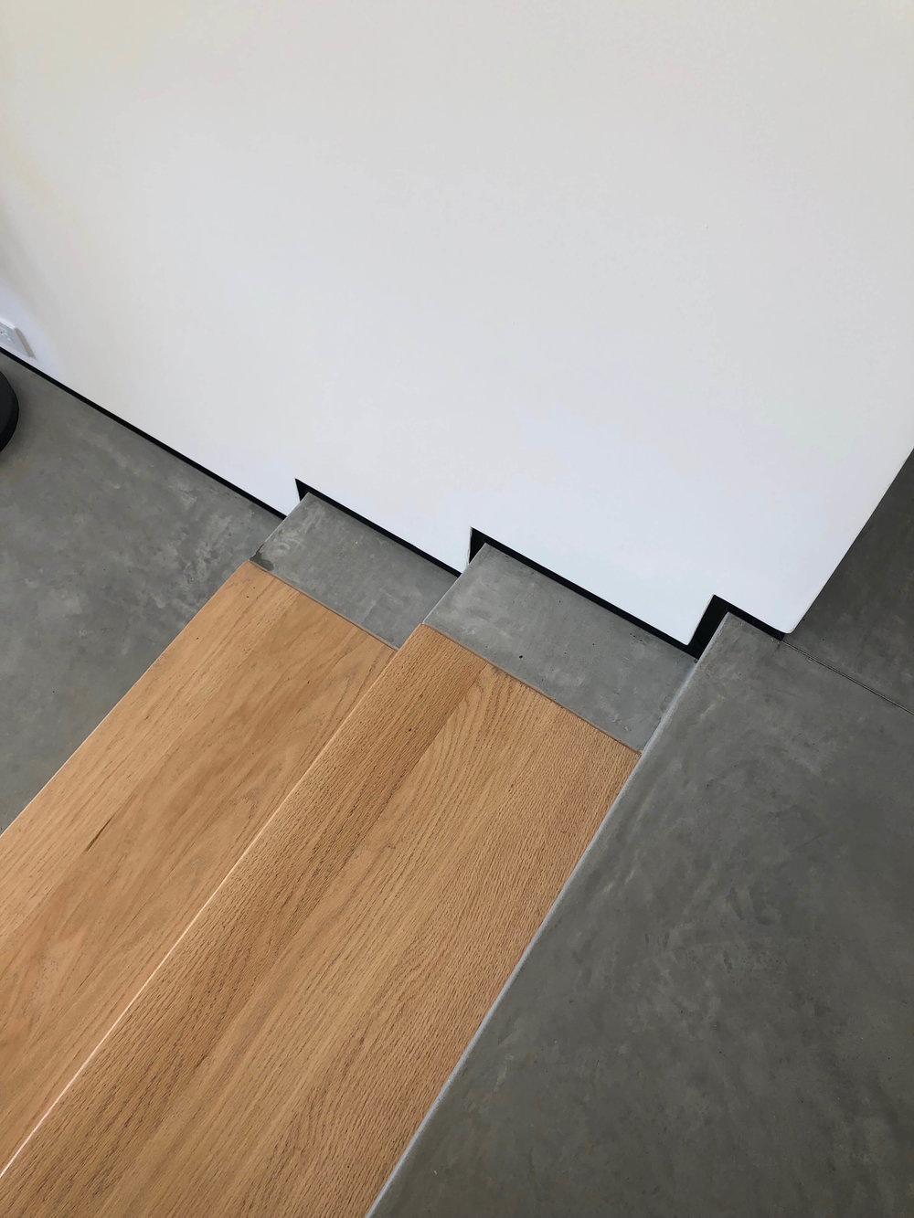 California contemporary design - Dwell on Design's Fall Home Tour, Designer: Vitus Matare #stairs #concretefloors